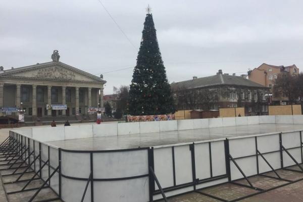 Коли у Тернополі відкриють «Зимове містечко»