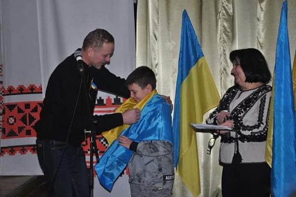 Максим Чайковський: волонтер – у вісім років