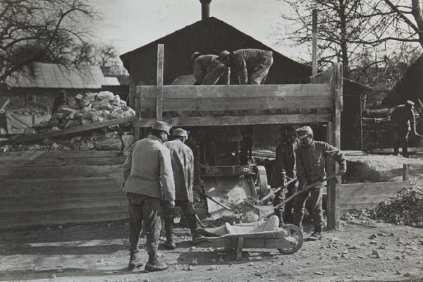 Село Надрічне на фото з Австрійського архіву