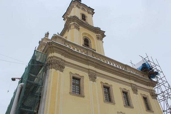 80% Бучацької ратуші уже відреставрували