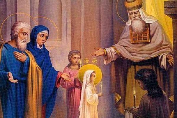 4 грудня — Введення у Храм Пресвятої Богородиці