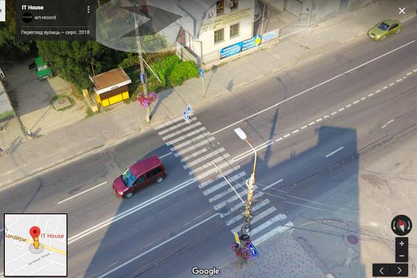 Тернополяни написали петицію, щоб на дорозі встановили лежачого поліцейського