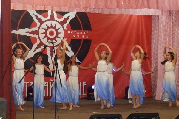 У Ланівцях пройшов фестиваль «Вставай Сонце»