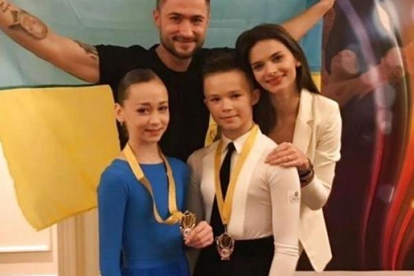 Маленькі тернополяни стали чемпіонами світу з бальних танців