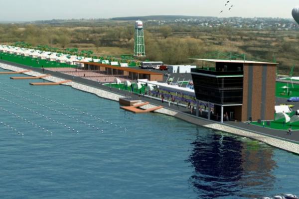 У Тернополі будують «Водну арену», аналогів якій в Україні немає