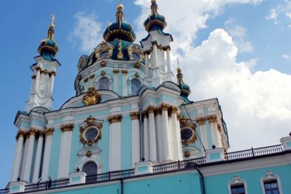 Відслужено першу Літургію Вселенського патріархату в Києві (Відео)