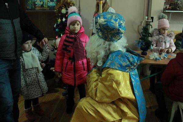 Акція «Миколай про тебе не забуде!» у Бучачі на Тернопільщині