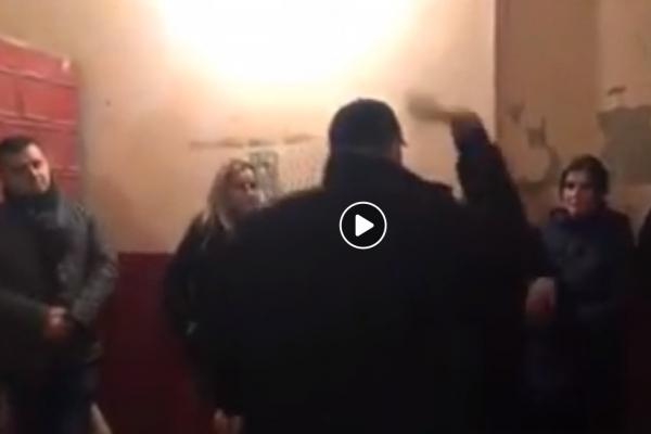 Радикально! На Тернопільщині народний депутат накинувся на голову РДА (Відео)