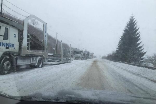 У Тернопіль можуть обмежити в'їзд вантажівок