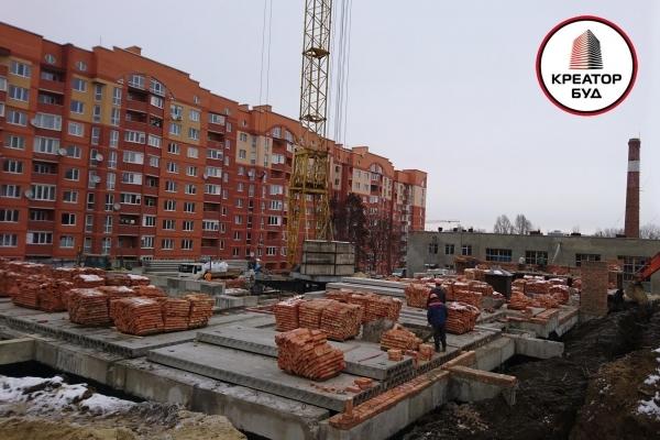 Будівельна компанія «Креатор-Буд» проводить роботи зі зведення Паркового комплексу