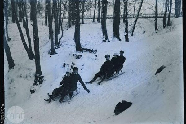 Зимові розваги тернополян в 1920-х роках