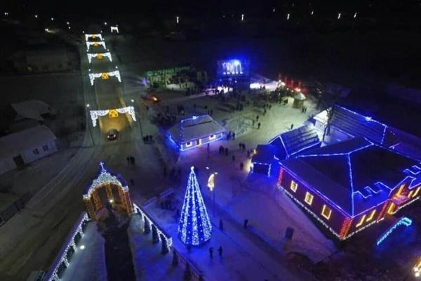 У селі на Тернопільщині створили неймовірне зимове містечко (Фото)