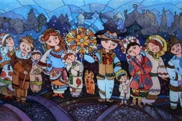 Різдвяні віншування та колядки для дітей