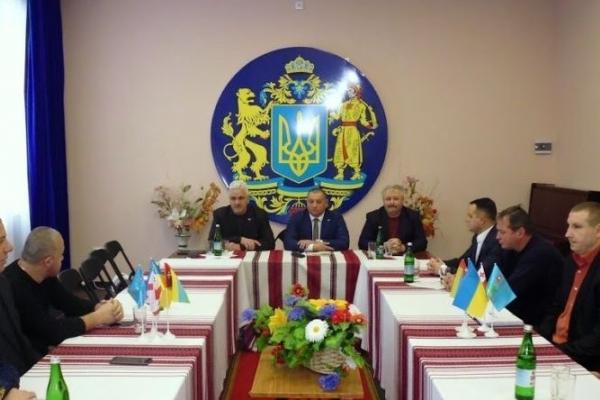 До Кременця завітала делегація з Грузії