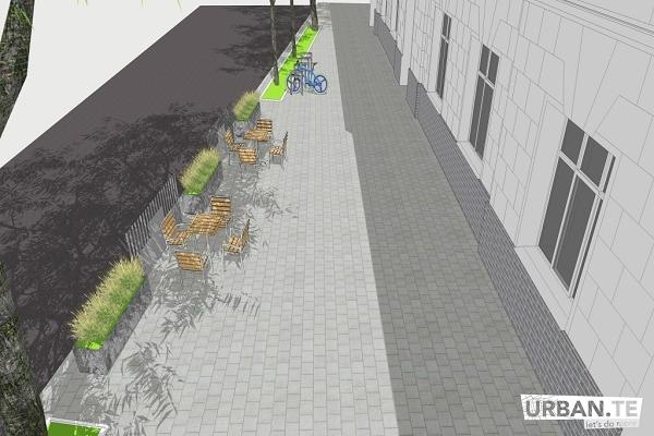 Тернополяни хочуть «вуличний простір» на вулиці Й.Сліпого