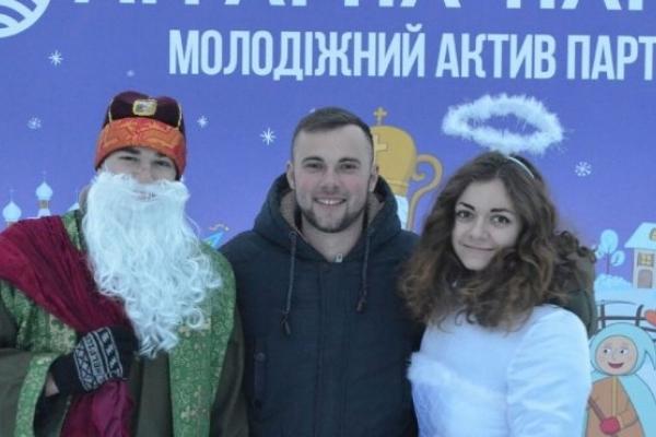 Новорічно-різдвяні святкування на Тернопіллі розпочалися з частування «Аграрним» кулішем