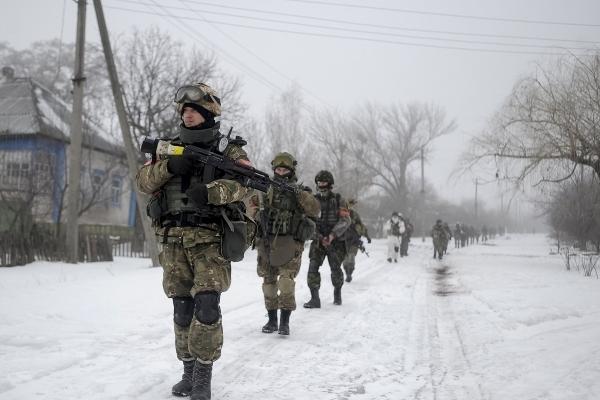 Військові на Донбасі привітали українців з Новим роком (Відео)