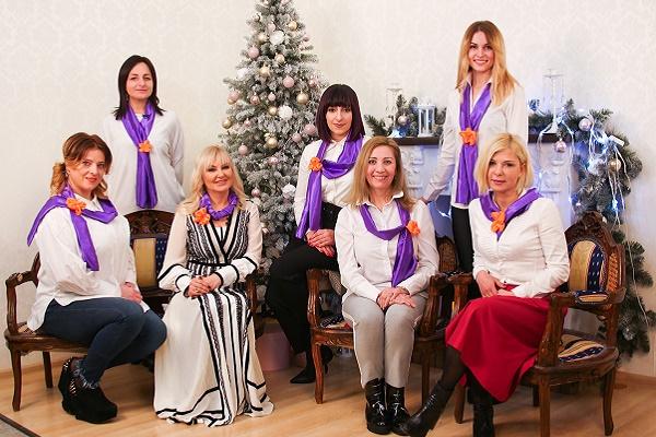 Ольга Шахін та «Асоціації жінок України «Дія» бажають тернополянам успішного року