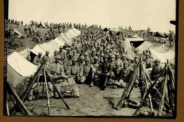 Турки поблизу Зборова 100 років тому