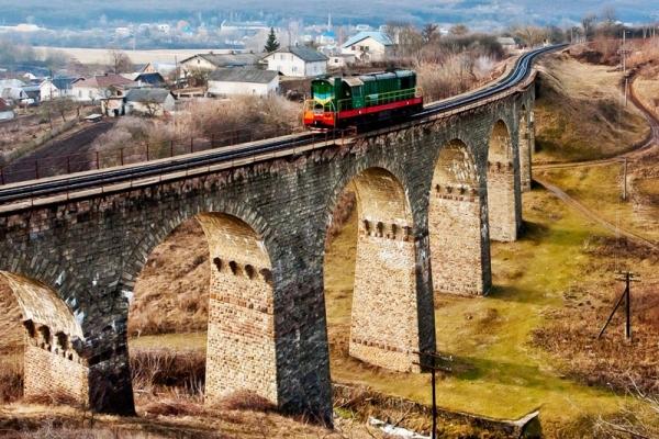 Унікальний міст на Тернопільщині (Відео)