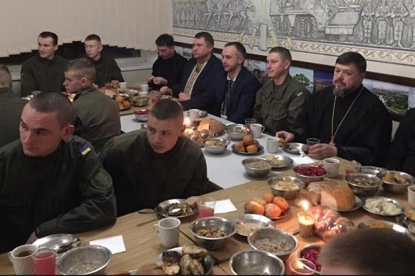 «Склалася добра традиція зустрічати Святвечір із захисниками України» – Віктор Шумада