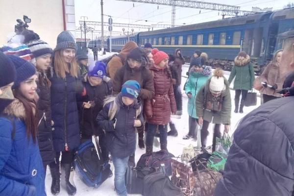 На Тернопільщині святкують Різдво діти з Луганщини та Донеччини