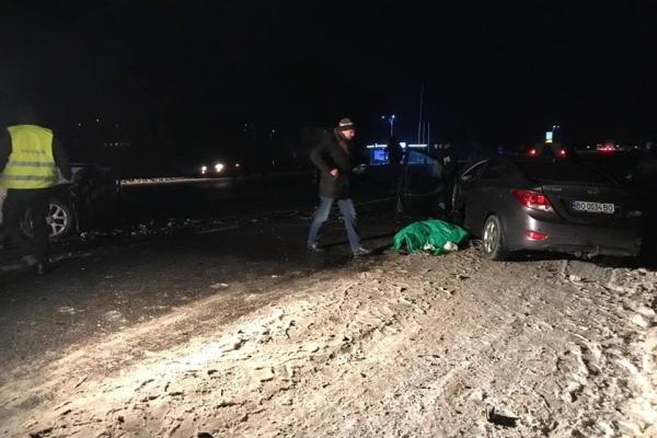 Одна людина загинула, троє травмованих. Результат ДТП на Тернопільщині (Наживо)