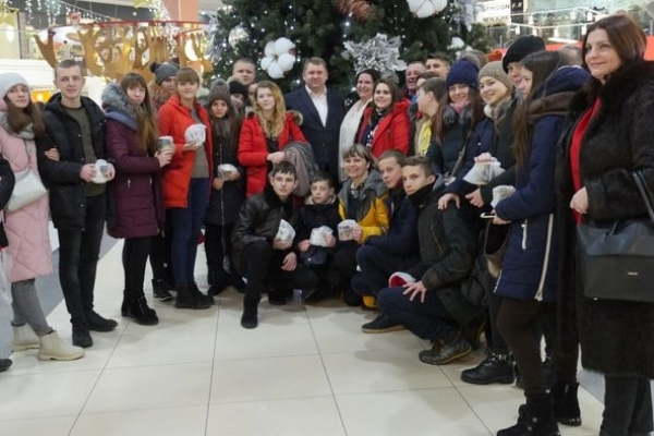 Різдвяні канікули провели на Тернопільщині діти із прифронтової зони