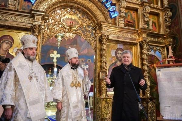 «А де їхній Томос? Сталіним підписаний?»: Порошенко звернувся до РПЦ