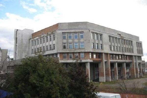 У Тернополі горить недобудована обласна бібліотека