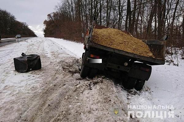 У Заліщицькому районі легківка врізалась у КамАЗ