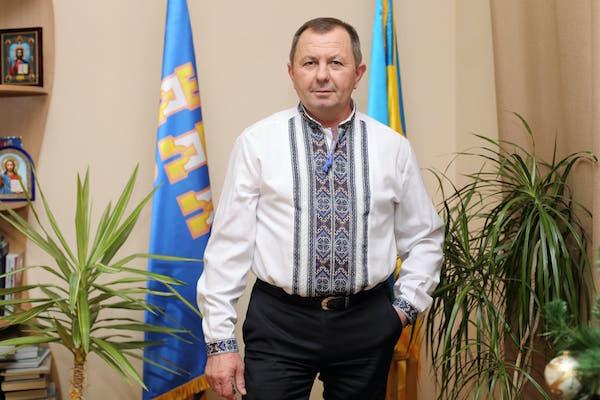 Василь Деревляний привітав краян з Днем Соборності України
