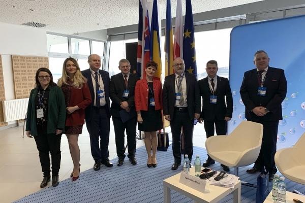 Віктор Овчарук презентував Тернопільщину на міжнародному форумі в Польщі (Відео)