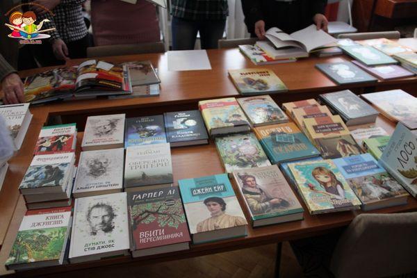 Тернопільська обласна бібліотека для дітей поповнилася новими книгами
