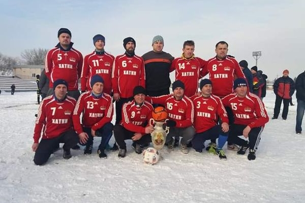 Команда «Хатки» перемогла у турнірі з міні-футболу пам'яті Івана Гунька на Бережанщині