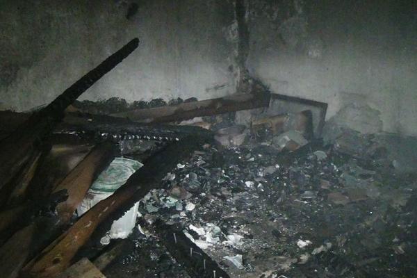 У Тернополі виникла пожежа у підвалі, де жив безхатченко