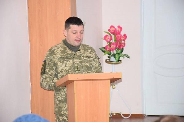 Вадим Ластовицький став новим директором коледжу з посиленою військовою та фізичною підготовкою у Збаражі