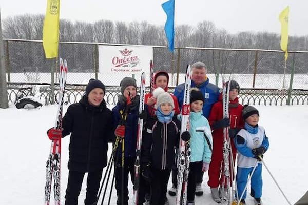 «Тернопільский квас» підтримав змагання юних біатлоністів області