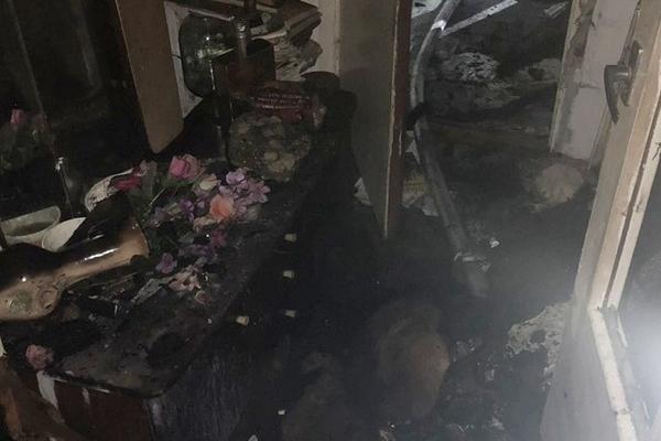 У Чортківському районі під час пожежі врятували 5 дітей