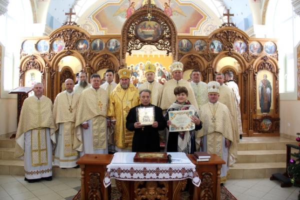 Подружжя відзначило «Золотий» ювілей у Зарваниці (Фото)