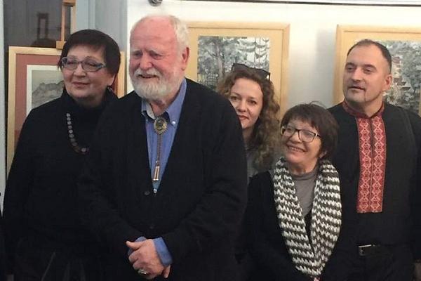 У Бережанському музеї діє виставка художника Євгена Удіна