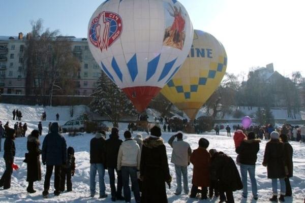Фестиваль повітряних куль «Файне небо» - графік польотів