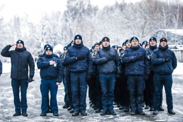 Тернопільські патрульні підтримали оригінальний флеш-моб