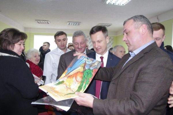 Наливайченко в Тернополі: «Справедлива країна – це мій пріоритет»
