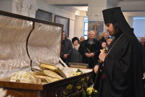 Тернопіль прощається з отцем Анатолієм Зінкевичем (Фото, Відео)