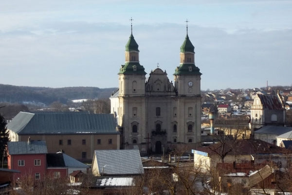 Бернардинський монастир та інші сакральні пам'ятки Збаража