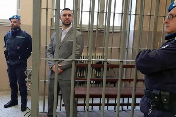 У Італії на кожне судове засідання у справі нацгвардійця Віталія Марківа приїзджають українці з різних італійських міст
