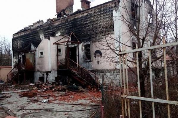 Шокуючі світлини понищених війною Пісків, Мар'їнки та Авдіївки на Донеччині показали тернопільські козаки
