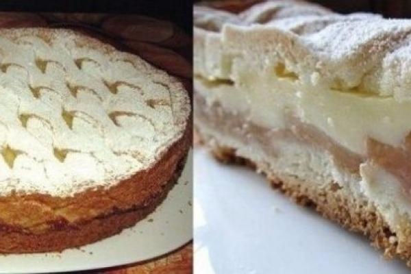 «Панський»: Яблучний пиріг з ніжним кремом