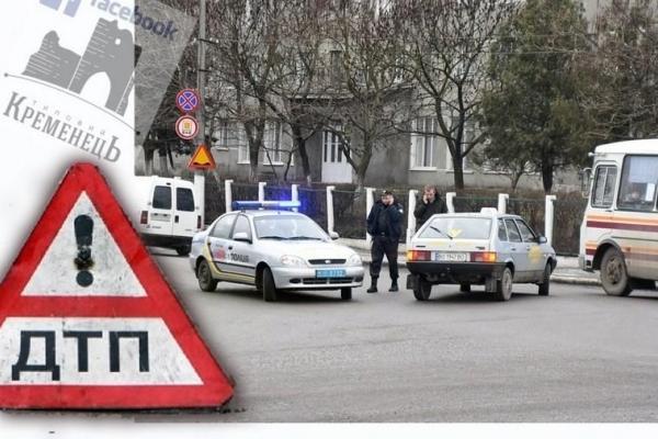 У ДТП на Тернопільщині потрапили поліцейські та інспектор автошколи